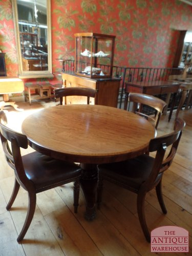 Ronde Antieke Eettafel.Antieke Ronde Tafel Antique Warehouse