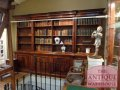 antique Georgian library boocase from liverpool