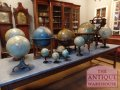 antique globe de terrestre