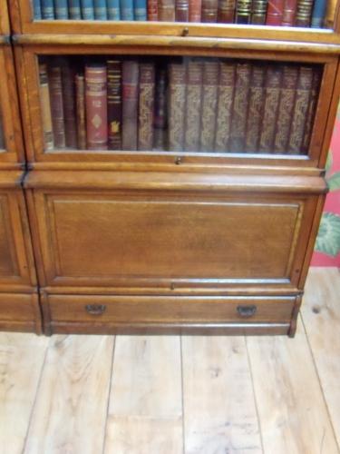 Antieke eiken Globe Wernicke stapelbare boekenkast | Globe Wernicke ...