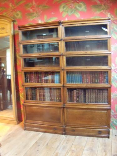 Antieke eiken Globe Wernicke stapelbare boekenkast   Globe Wernicke ...