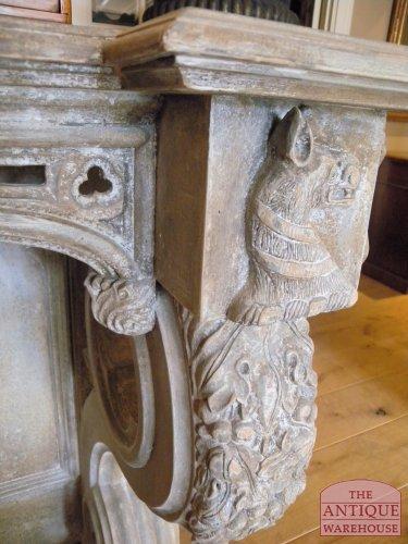 antieke side tafel