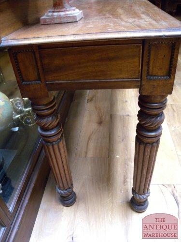 antieke mahonie side tafel