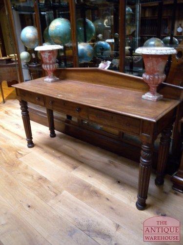 antieke mahonie Engelse side table