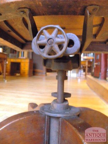 antieke mahonie bureau stoel