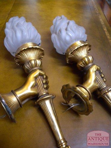 antieke Franse lamp