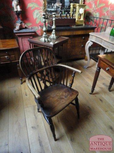antiek Windsor stoeltje
