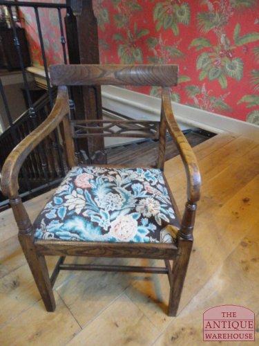 antieke Engelse stoel