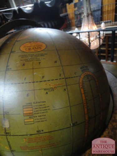 antieke cram's globe, USA