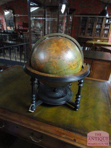 antieke 16 inch Indianapolis globe