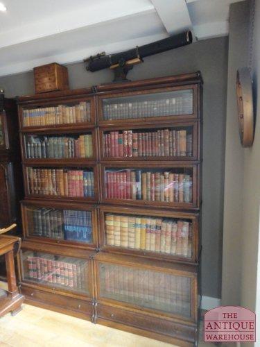 sectional elastic antique Globe Wernicke bookcase