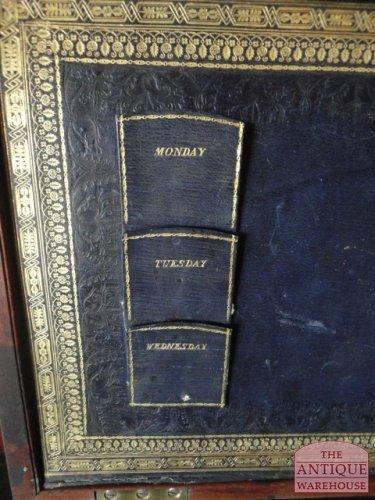 antieke Engelse schrijfkist