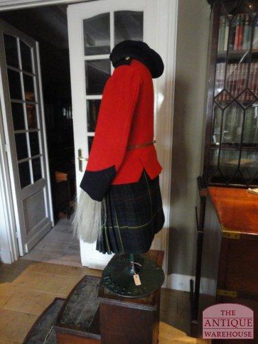 antiek kinderpakje Schots