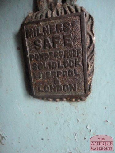 Milners safe powder proof