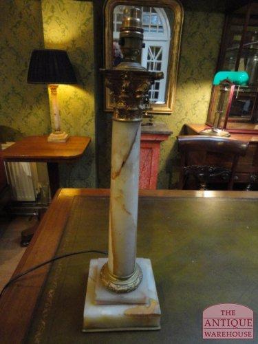 antiek lampenvoet