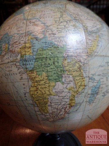 antieke globe Afrika