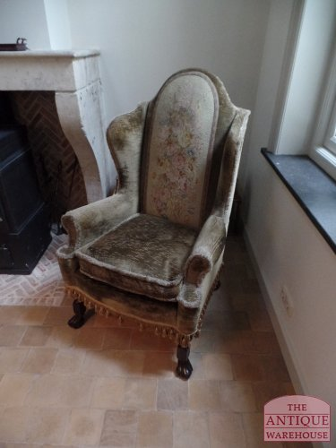 antieke fauteuil, Engels