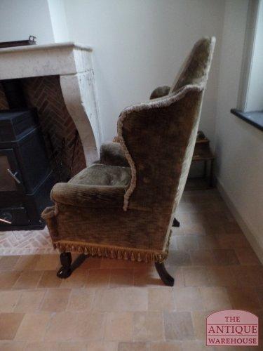 antieke Engelse stoel van circa 1900
