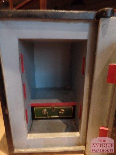 binnenkant van de kluis