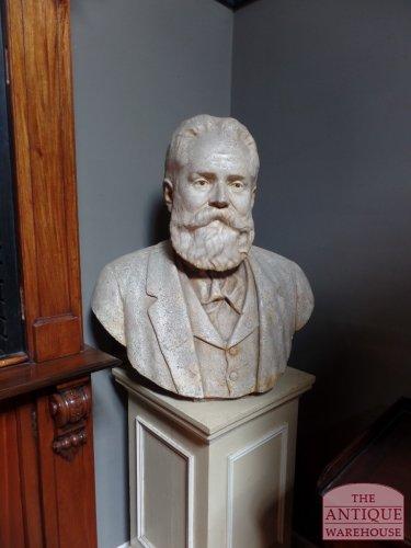 Samuel Plimsoll statue in plaster