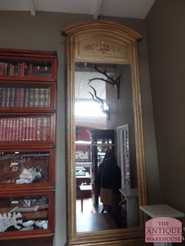 antieke ranse hoge spiegel