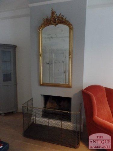 antieke spiegel in moderne zetting