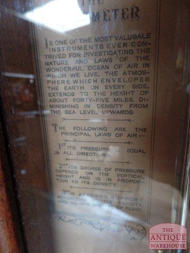 antieke barometer