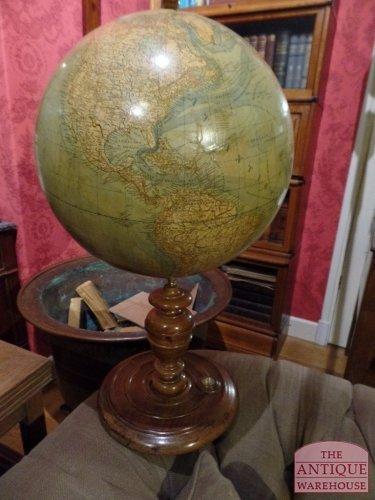 antieke Duitse globe