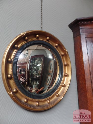 antique butler mirror