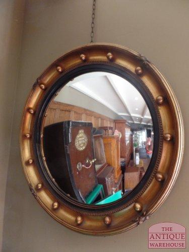 antieke Engelse butler mirror