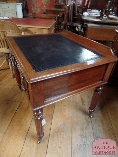 antiek mahonie Engels schrijftafeltje