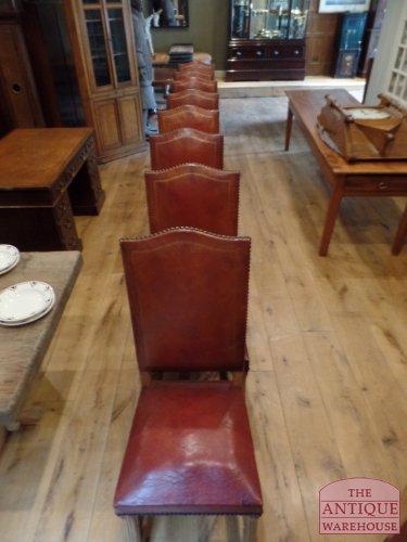 8 maal antieke Franse stoel