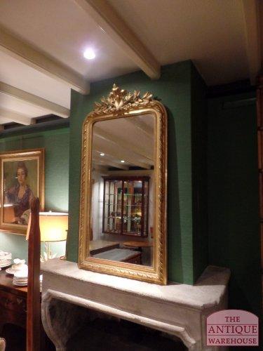 originele Franse antieke spiegel