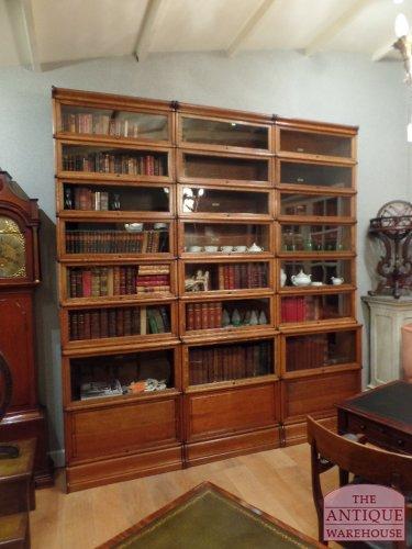 antique Globe Wernicke bookcase