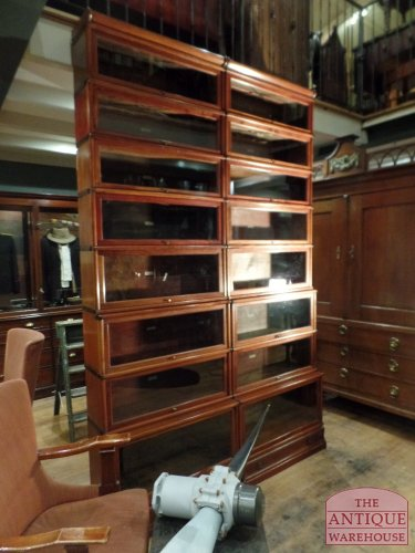 Globe Wernicke sectional bookcases