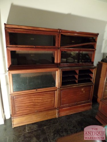 antique mahogony bookcases